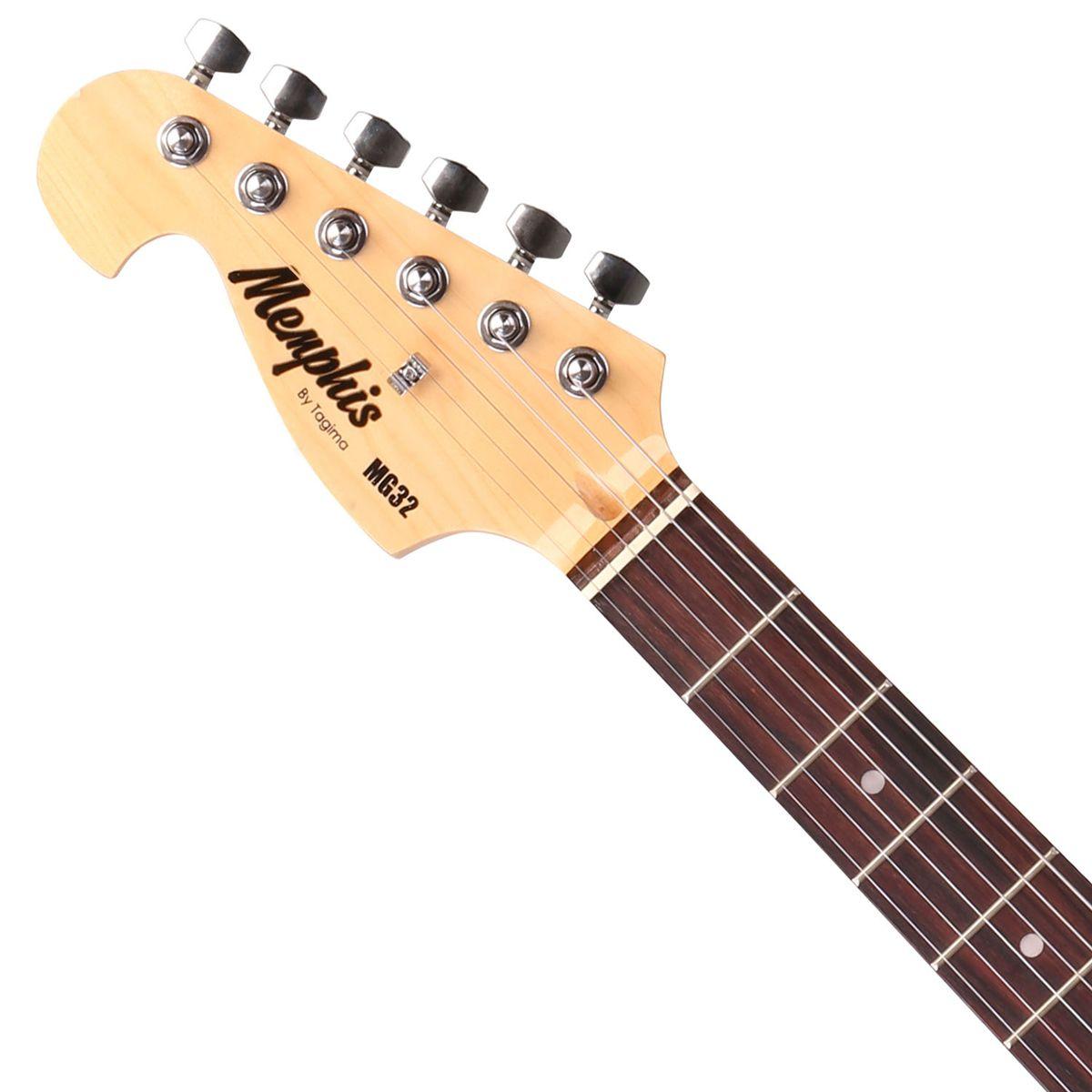 Guitarra Tagima Memphis Mg 32 Sb Lh Canhoto