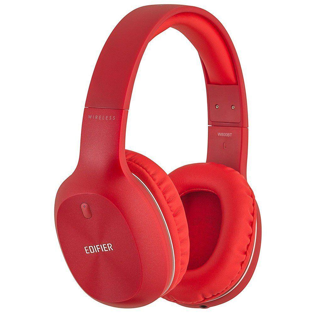 Headphone Hi-Fi W800BT Bluetooth EDIFIER Vermelho