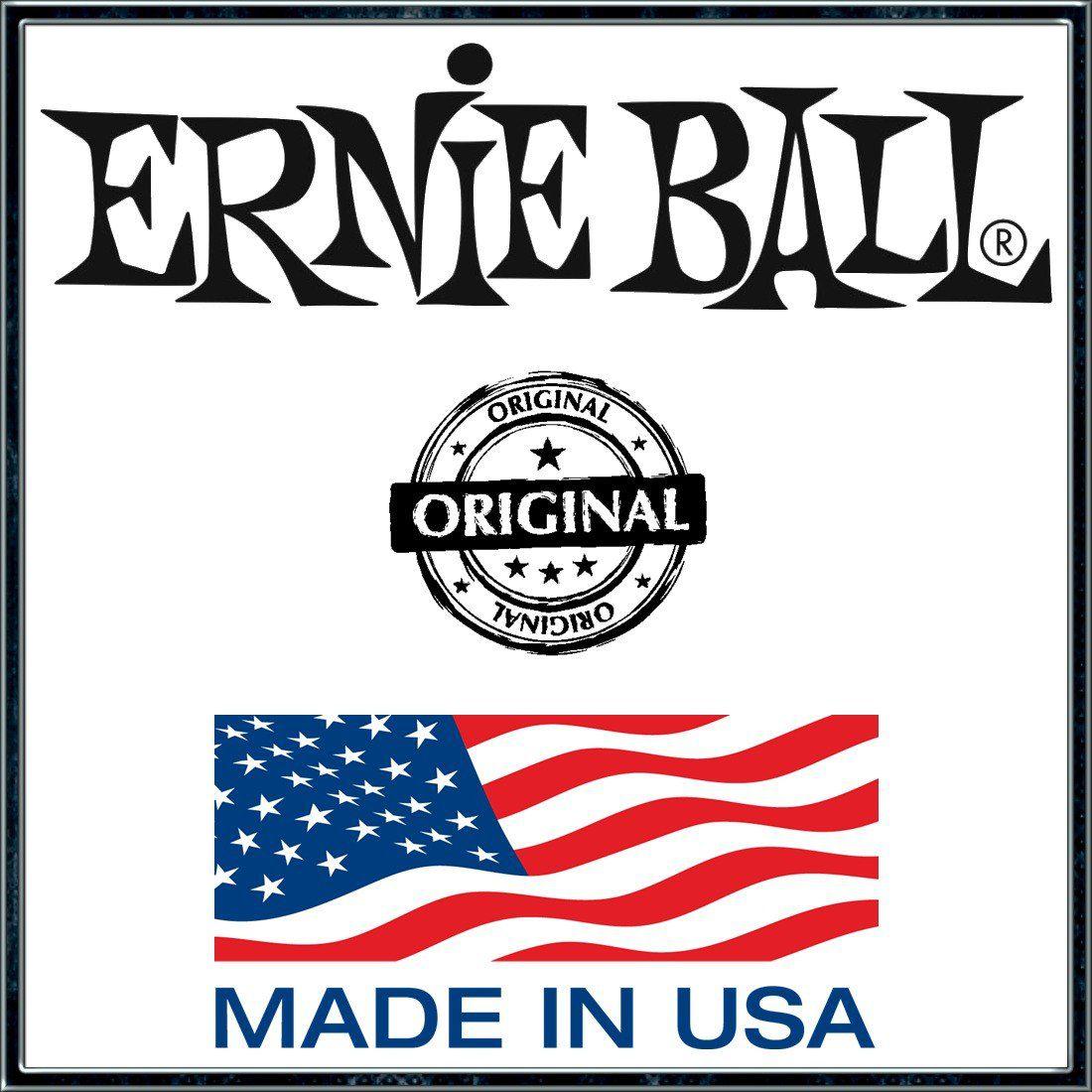 Kit 3sets Encordoamento Violão Ernie Ball Earthwood 80/20 Bronze 013