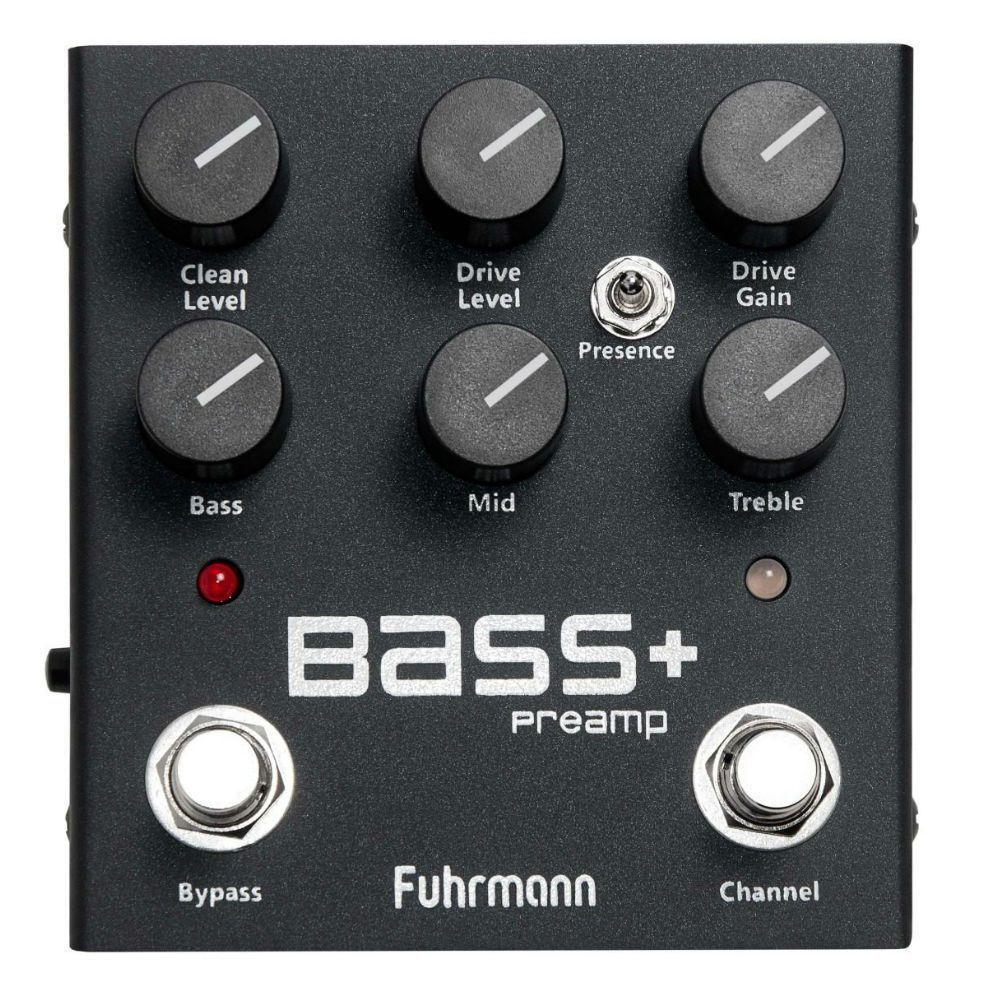 Pedal Fuhrmann Bass Preamp Lançamento Contrabaixo