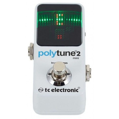 Pedal Mini Afinador Polytune 2 Tc Electronic