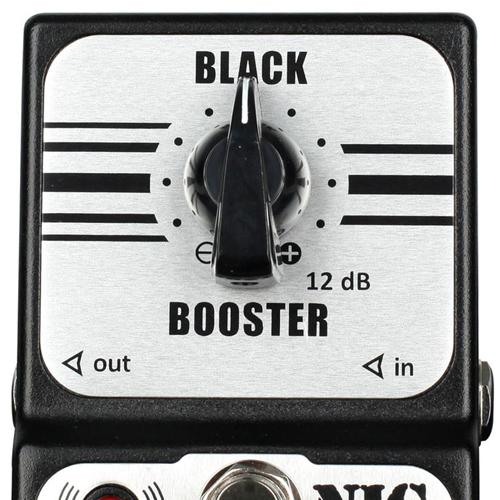 Pedal Nig Black Booster Pbb True Bypass