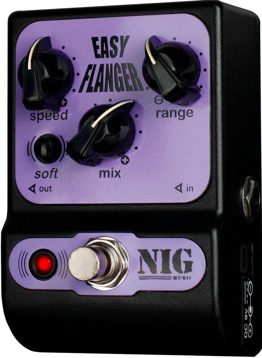 Pedal Nig Pocket Flanger Easy Flanger Pfl
