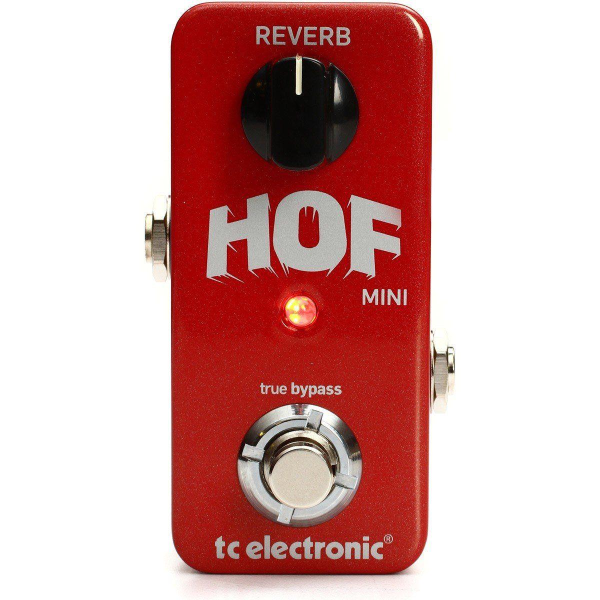 Pedal Reverb Para Guitarra Tc Electronic Hall Of Fame Mini