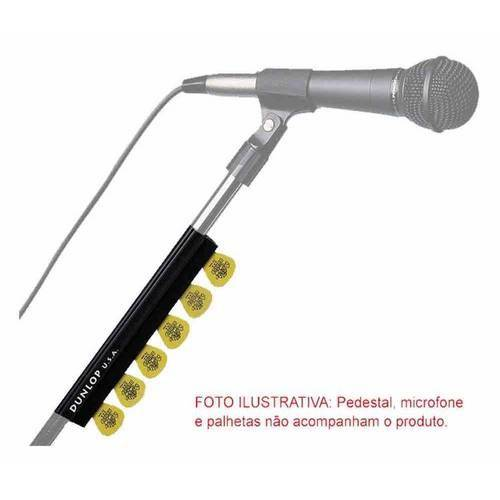 Porta Palhetas Dunlop Pedestal Microfone Stand Pick Holder