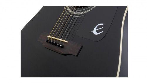 Violão Epiphone Folk Dr-100 Acústico Black
