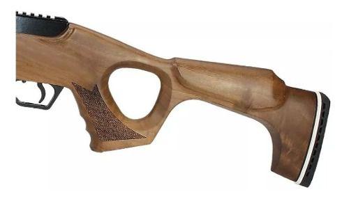 Combo Carabina de Pressão Hatsan Flash Wood