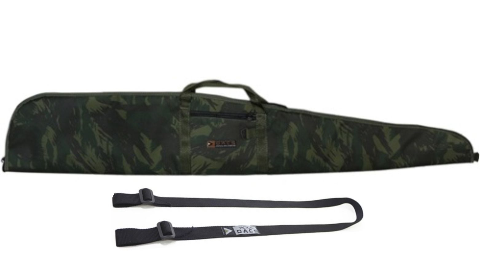 Capa  e bandoleira  p/ Arma Longa 1,30m - Camuflada Exercito Brasileiro