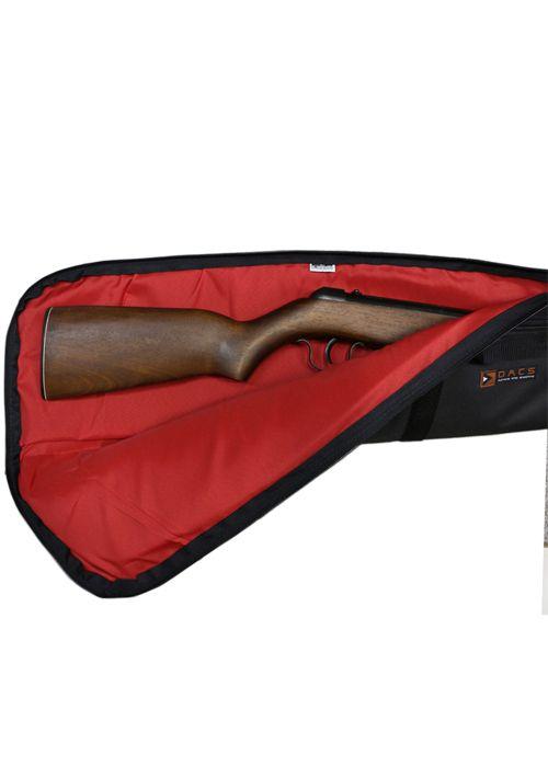 Capa Tactical Dacs para Arma Longa 1,30m - Preta