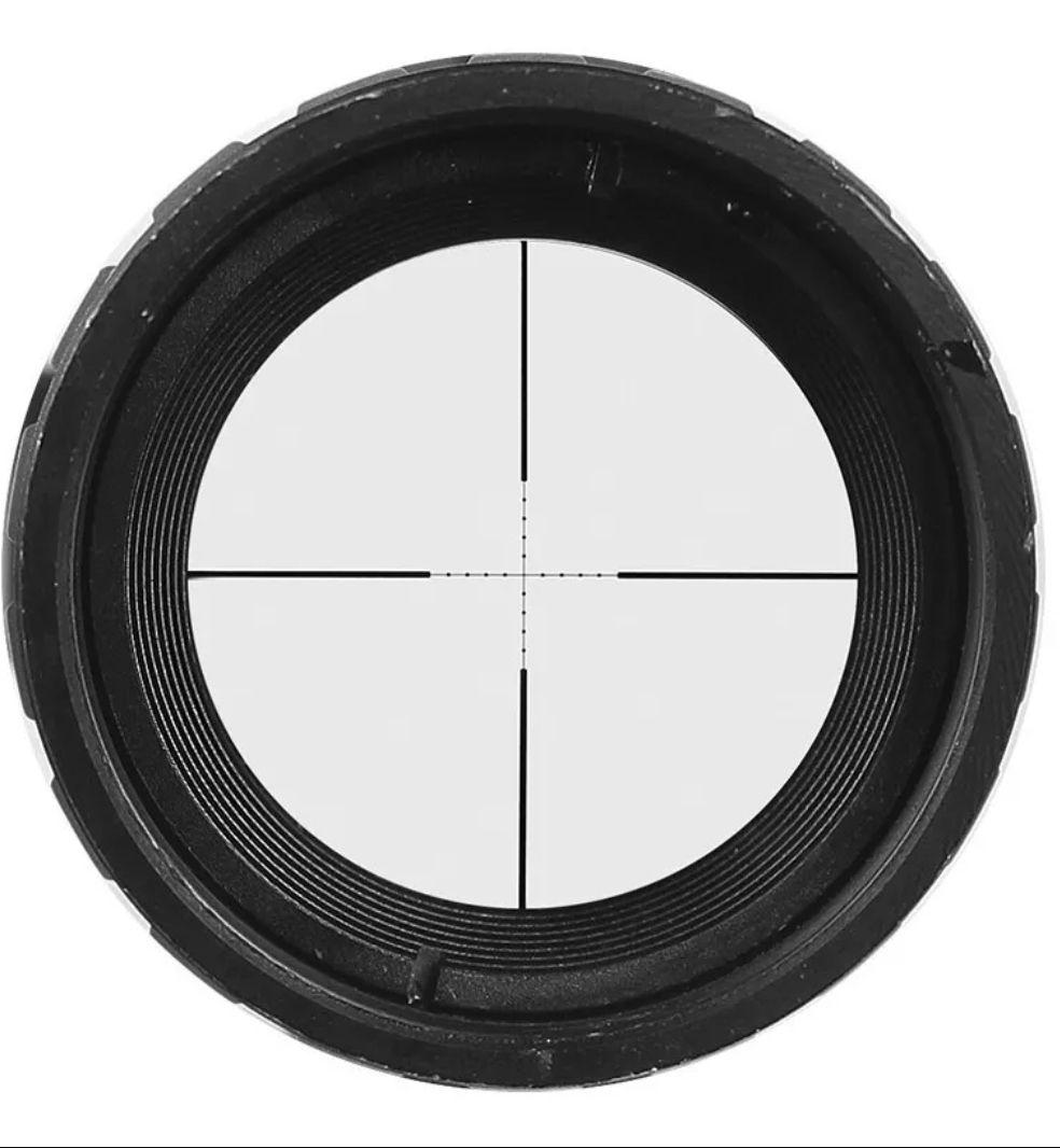 Carabina de pressão Black Ops Sniper 5,5 GÁS RAM 60kg + luneta Rossi + Bipé