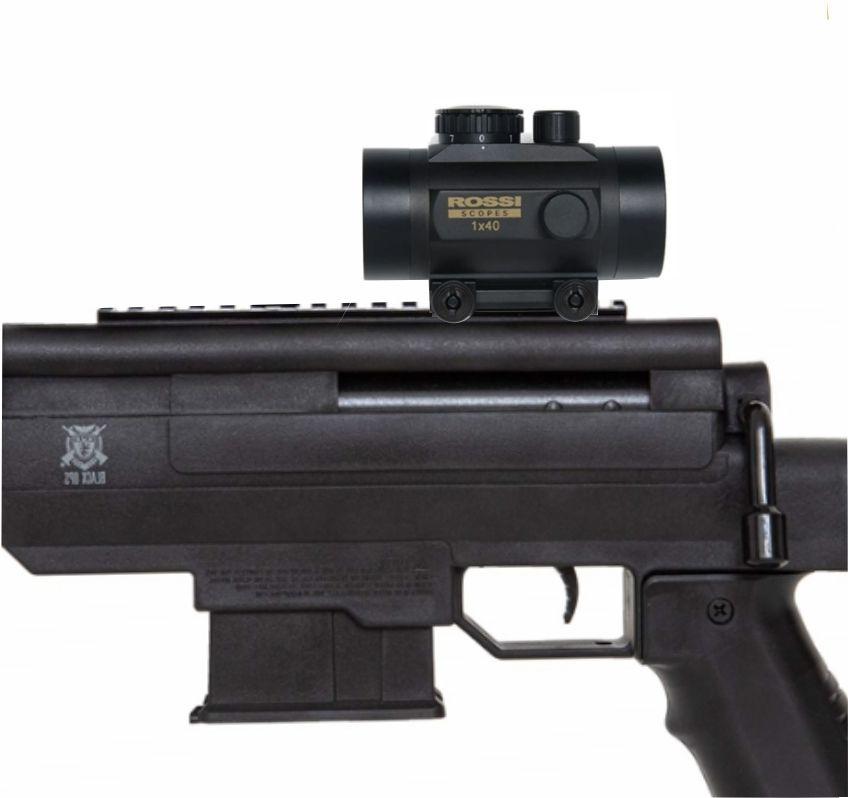 Carabina de pressão Black Ops Sniper 5,5 GÁS RAM 60kg + Reddot  + Bipé