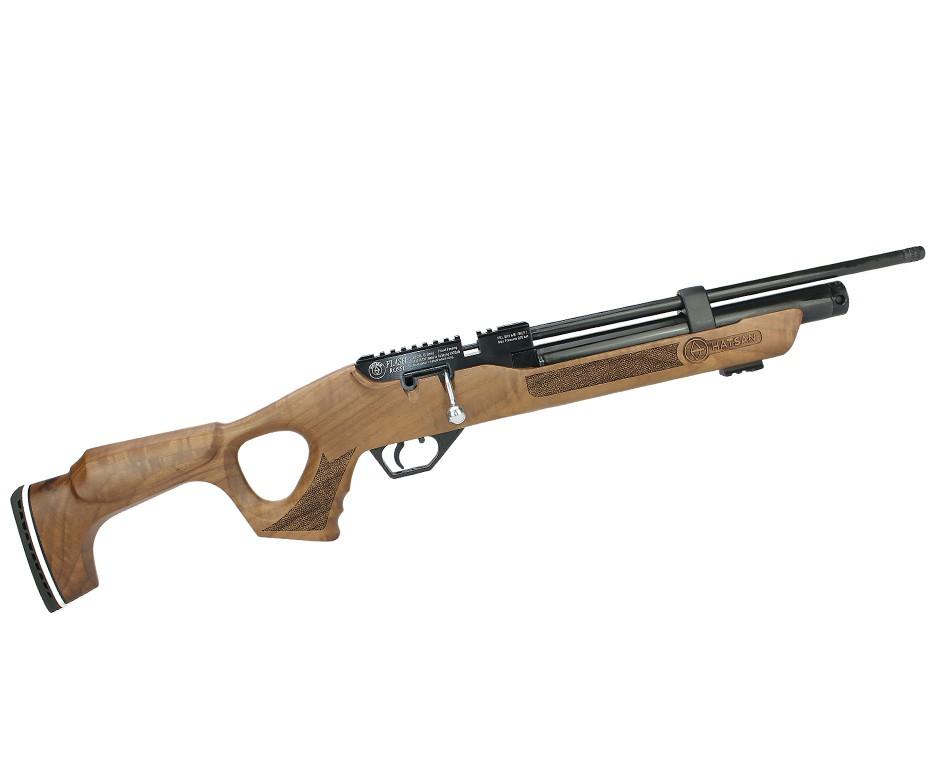 Carabina de Pressão Flash Wood + Bomba + Maleta B120