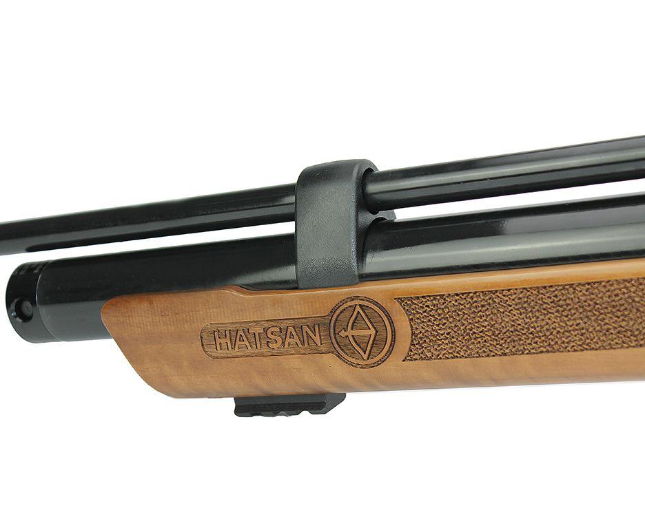 Carabina de Pressão Flash Wood + Luneta 4x32 Gold Crown + Bomba + Maleta Rigida