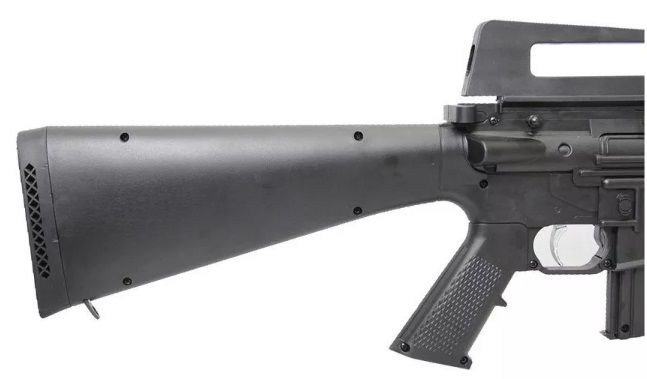 Carabina Pressão M16-r Gr60kg  4.5 Rossi