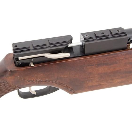 Carabina de Pressão PCP Boito Urutu 930 STD 5.5mm com luneta 4x 32 mount único