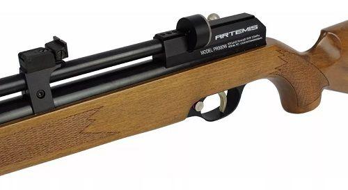 Carabina De Pressão Pcp Pr900w 5.5mm + Bomba + Luneta Mount Único + Capa