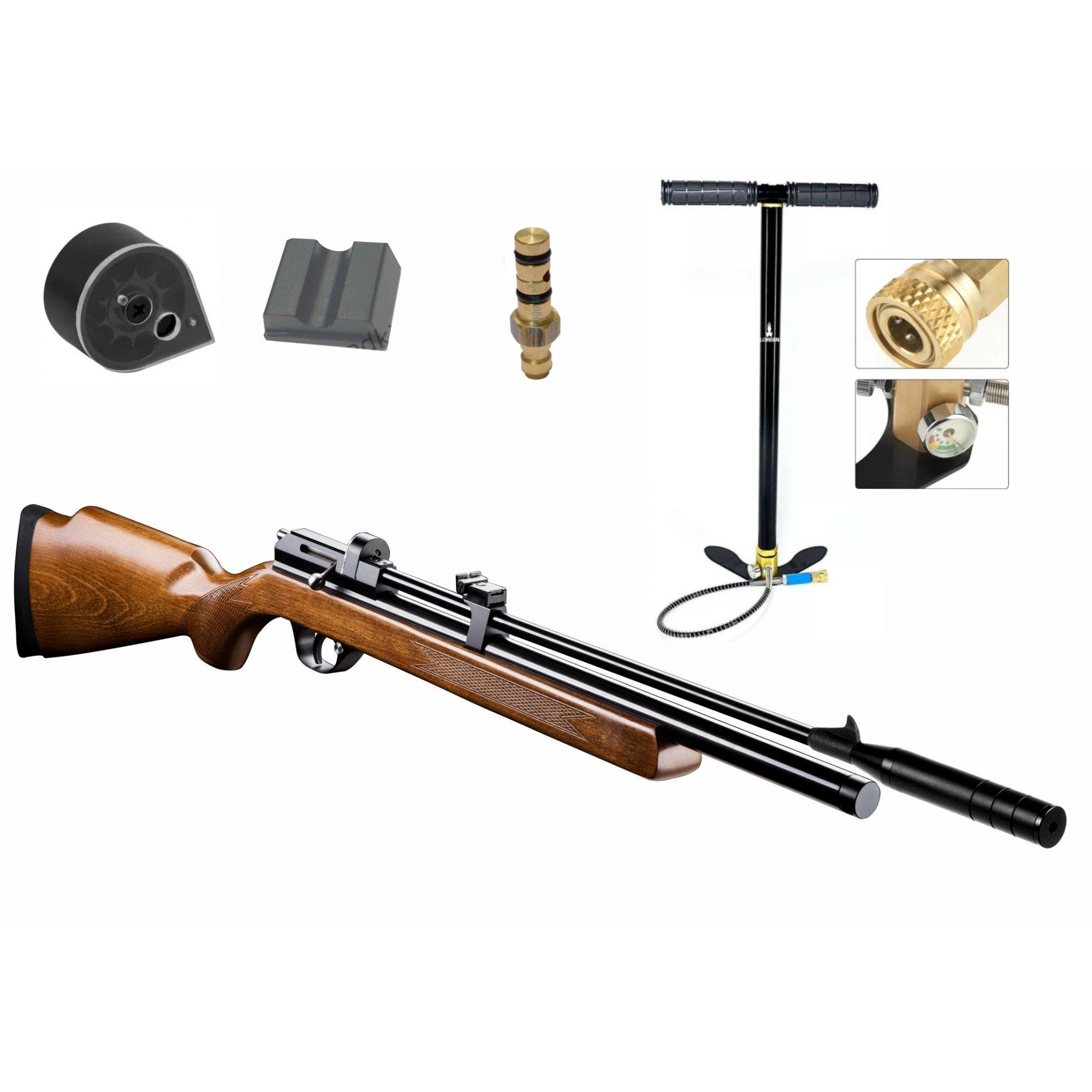 Carabina De Pressão Pcp Pr900w 5.5mm + Bomba PCP FIXXAR