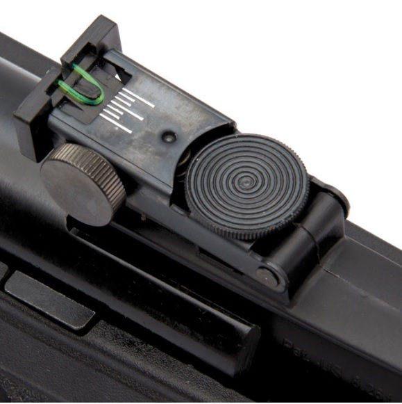 Carabina Gamo Black Fusion 4,5 Case, Chumbo, Alvo