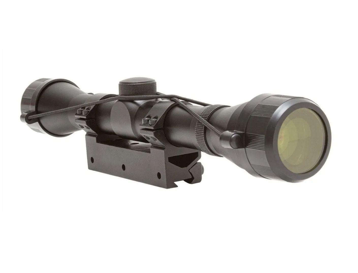 Carabina Hatsan 5,5mm HT130 QE Colete Walter+ Luneta 4x32