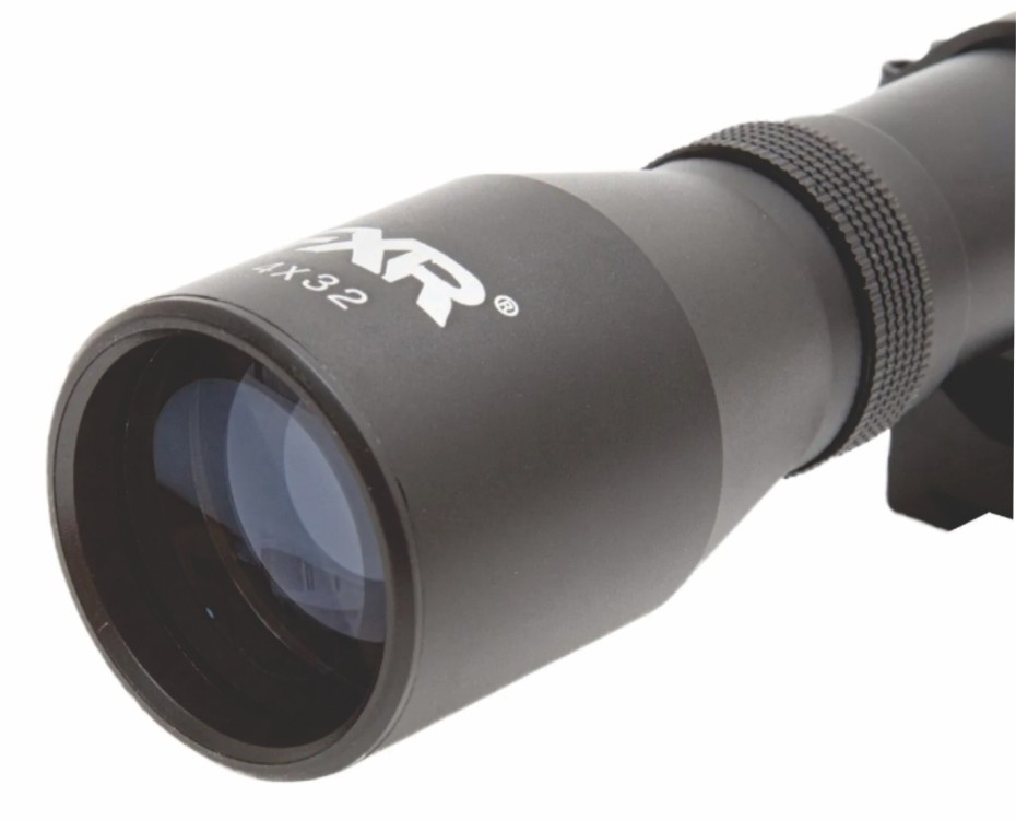 Carabina Hatsan 5,5mm HT130 QE + Luneta 4x32 + capa