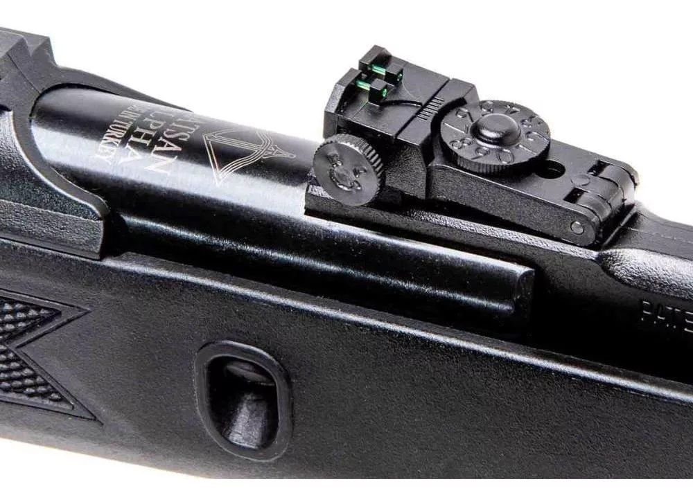 Carabina Hatsan Alpha 5,5mm  com luneta 4 x20 Rossi