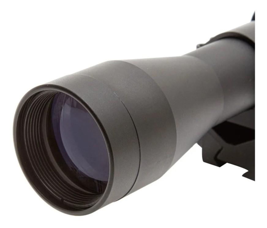 Carabina Hatsan Alpha 5,5mm com luneta 4x32 mount unico