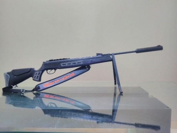 Carabina Hatsan HT125 SNYPER 5.5mm GR 75kg  + Luneta  + Maleta Rigida B136