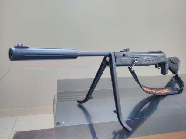 Carabina Hatsan HT125 SNYPER 5.5mm + Gás ram 75kg Instalado