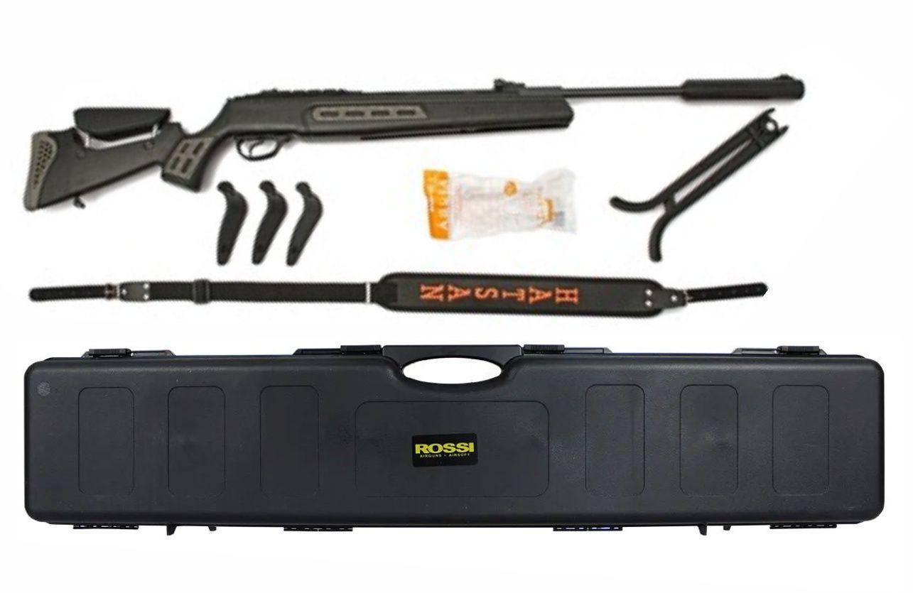 Carabina Hatsan HT125 SNYPER 5.5mm GR 75kg + Capa