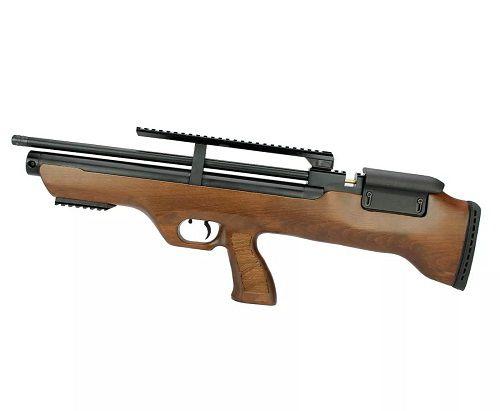 Carabina Hatsan PCP Bullpup Flashpup 12 tiros 5.5mm + Bomba Artemis
