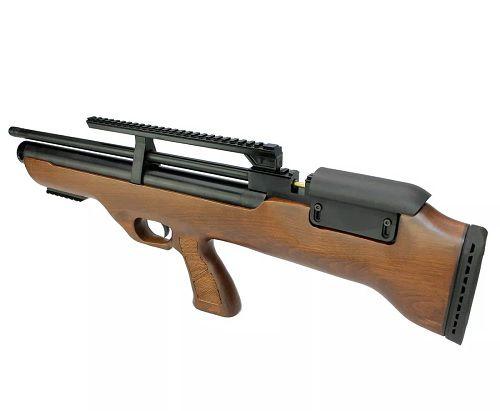 Carabina Hatsan PCP Bullpup Flashpup 12 tiros 5.5mm + Bomba Artemis  + Luneta 4x32