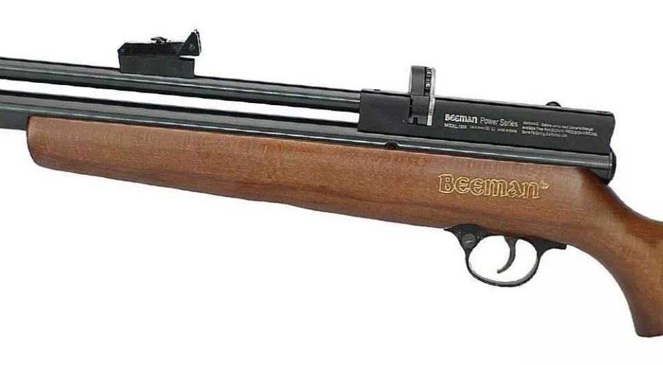 Carabina PCP Beeman 1338 QB II PLUS 5,5mm + Bomba + Luneta 4x32