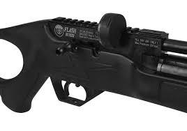 CARABINA PCP FLASH 5,5mm + Bomba Rossi + Luneta 4x32 mount unico