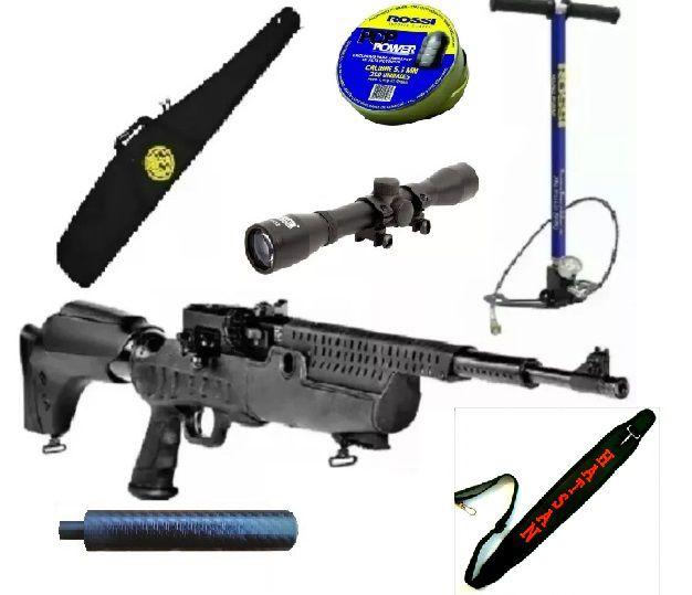 Carabina PCP Predator  5,5  com Case 46