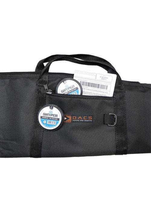 Carabina Pressão Airtact PD  5.5 GR 60 kg + capa + bandoleira