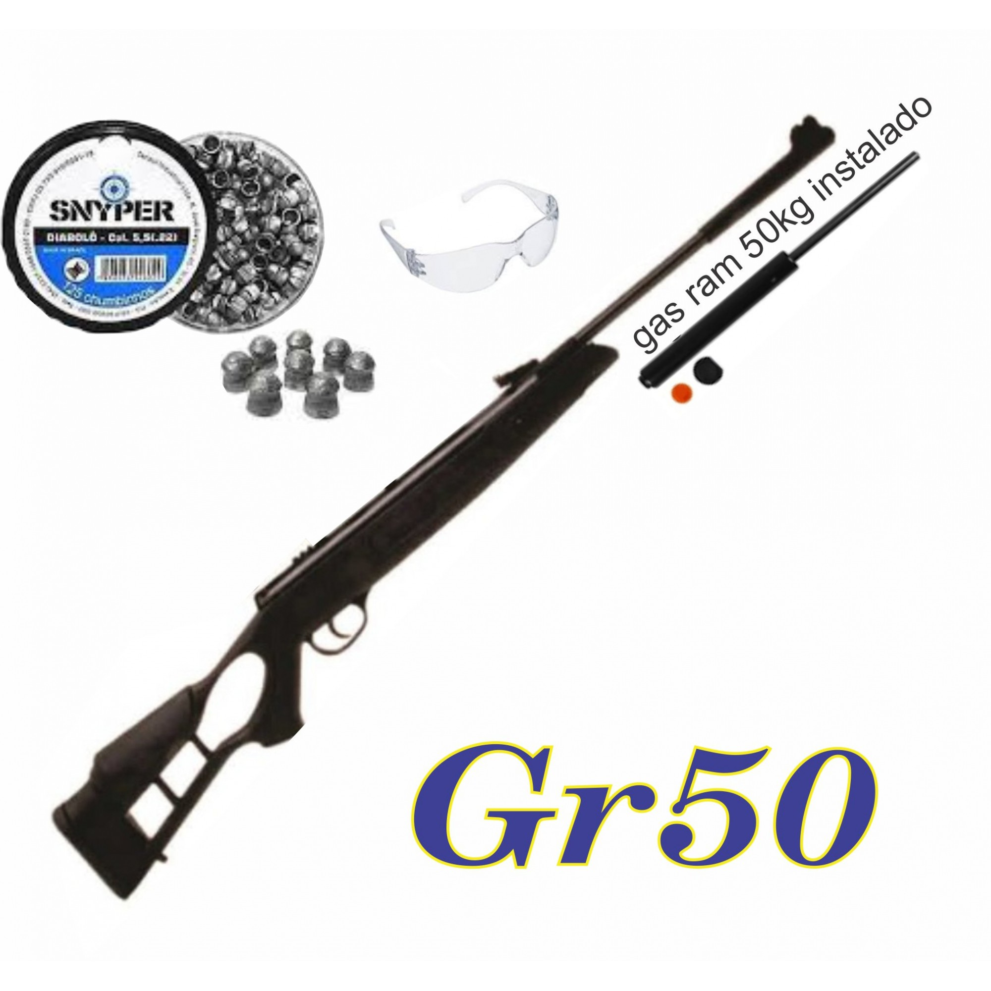 Carabina Striker edge 5,5 Gas ram 50kg