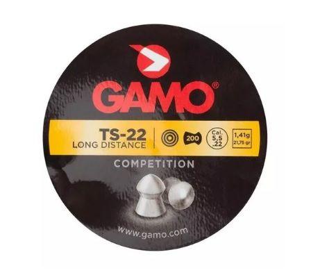 Chumbinho Gamo TS-22 5.5mm 200un.