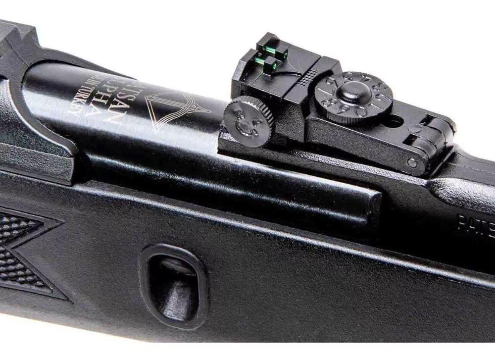 Combo Carabina Hatsan Alpha 5,5mm gas ram 50kg