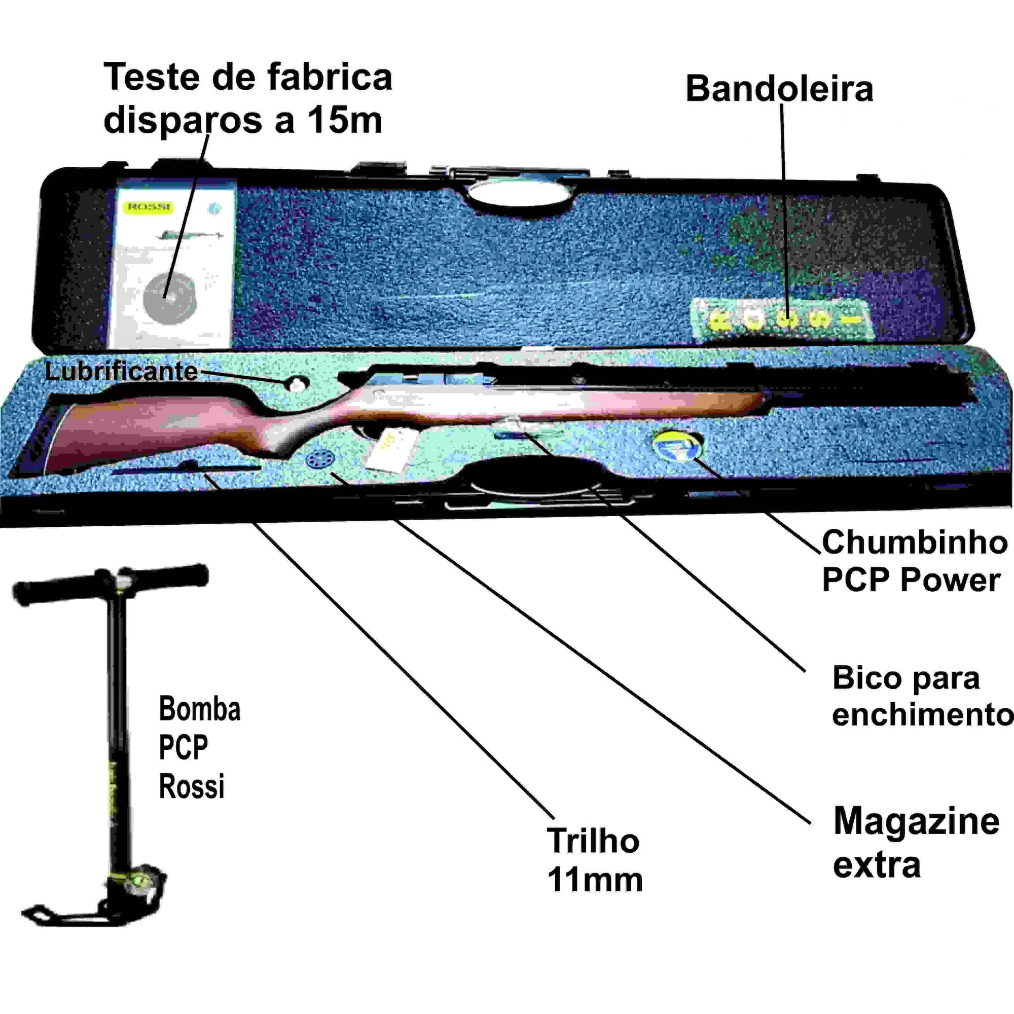 Combo R8 Rossi + bomba PCP manual