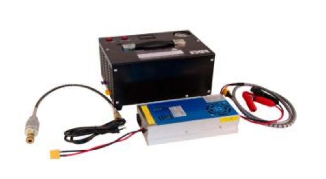 Compressor 12V/ 110V / 220V  Pressão Maxima 30MPa / 300Bar / 4500PSI