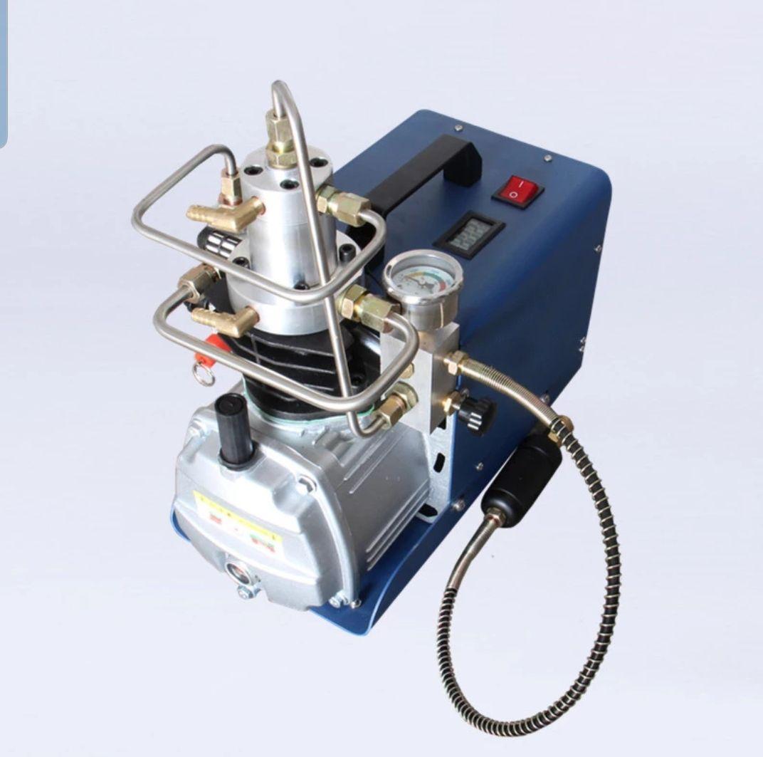 Compressor para PCP e Cilindros de Scuba 220V Auto-Stop ajustável até 4500PSI 300Bar 30MPA