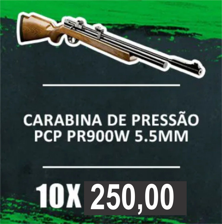 Consórcio - Carabina De Pressão Pcp Pr900w 5.5mm