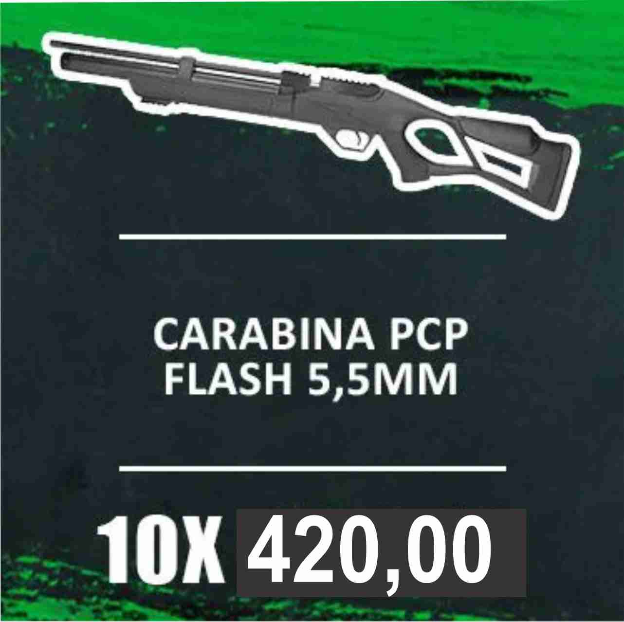 Consórcio - CARABINA PCP FLASH 5,5mm