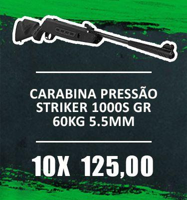 Consórcio - Carabina Pressão Striker 1000S GR 60kg  5.5