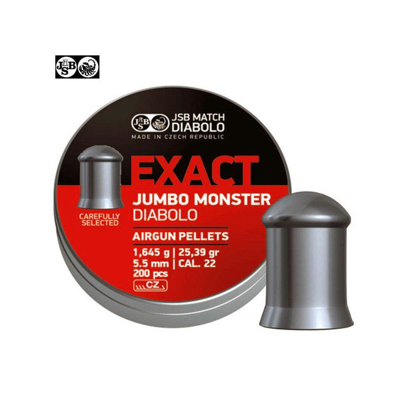 JSB EXACT MONSTER JUMBO ORIGINAL 5.52mm