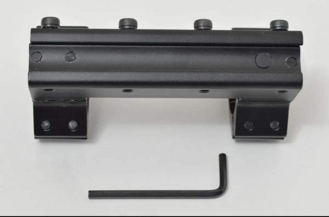 Mount antiimpacto emborrachado tubo 25 trilho 11mm