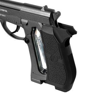 Kit Pistola de Pressão Co2 Wingun W301 4,5mm Full Metal