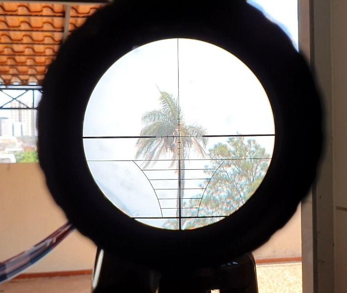 Kit Visão Noturna + Luneta Hero 6x24x50 com reticulo luminoso