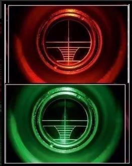 Luneta Riflescope 3x9x40 com reticulo luminoso