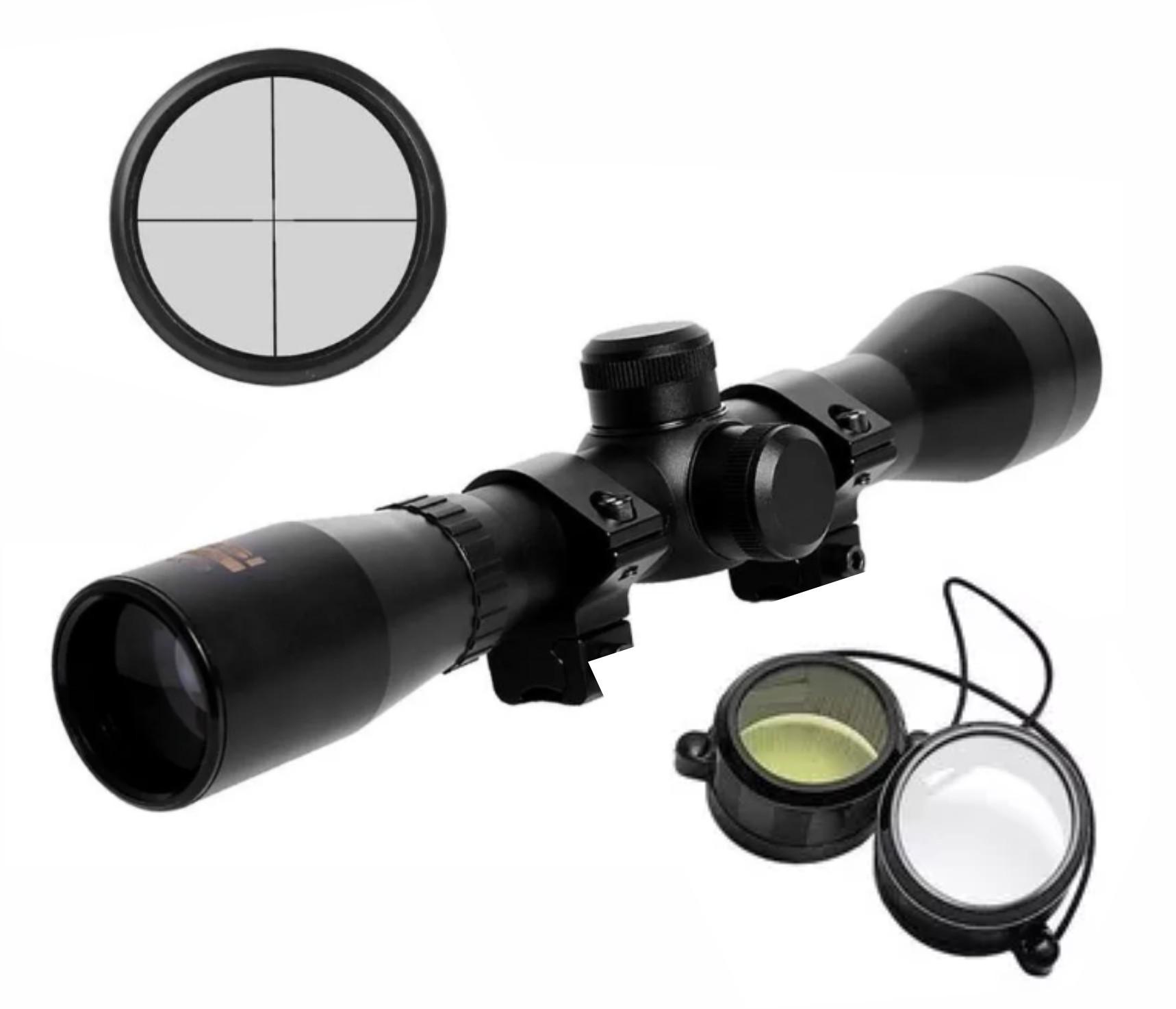 Nova Carabina PCP R8 Rossi 5,5mm + luneta 4x32 + bomba pcp